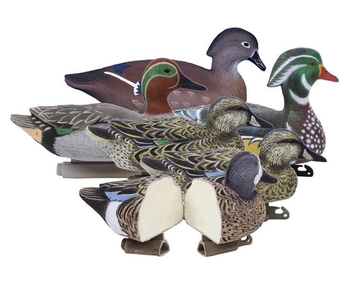 Higdon Decoys Standard Foam Filled Early Season Puddle Pack, 6 Pack_1.jpg