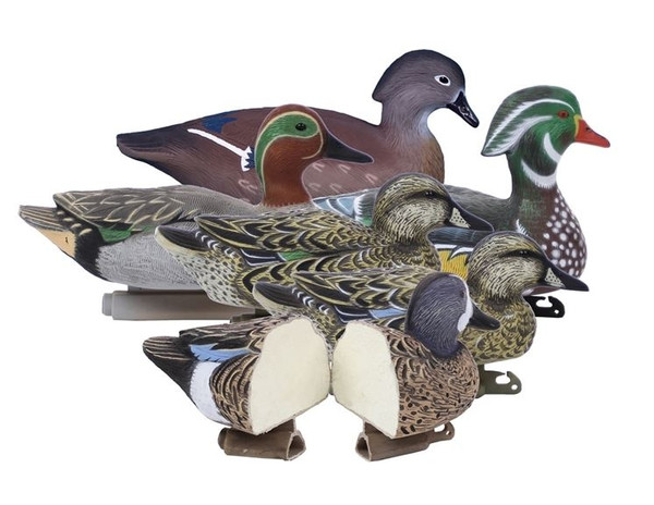 Higdon Decoys Standard Foam Filled Early Season Puddle Pack, 6 Pack