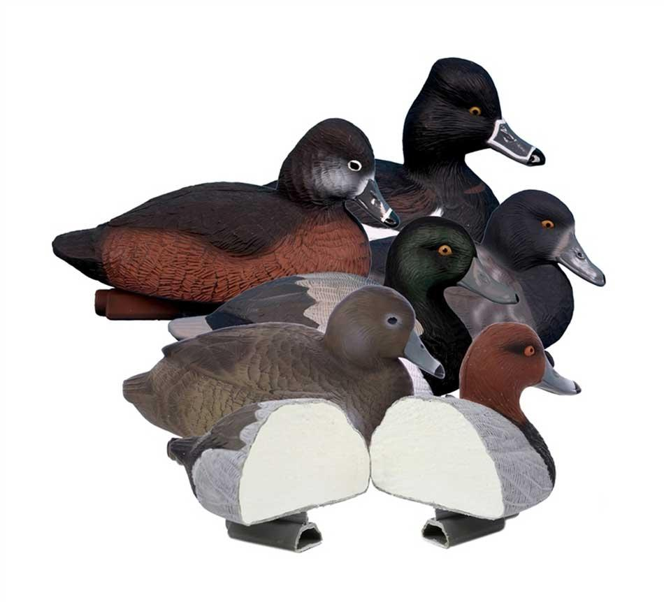 Higdon Decoys Standard Diver Pack, Foam Filled 6 Pack_1.jpg
