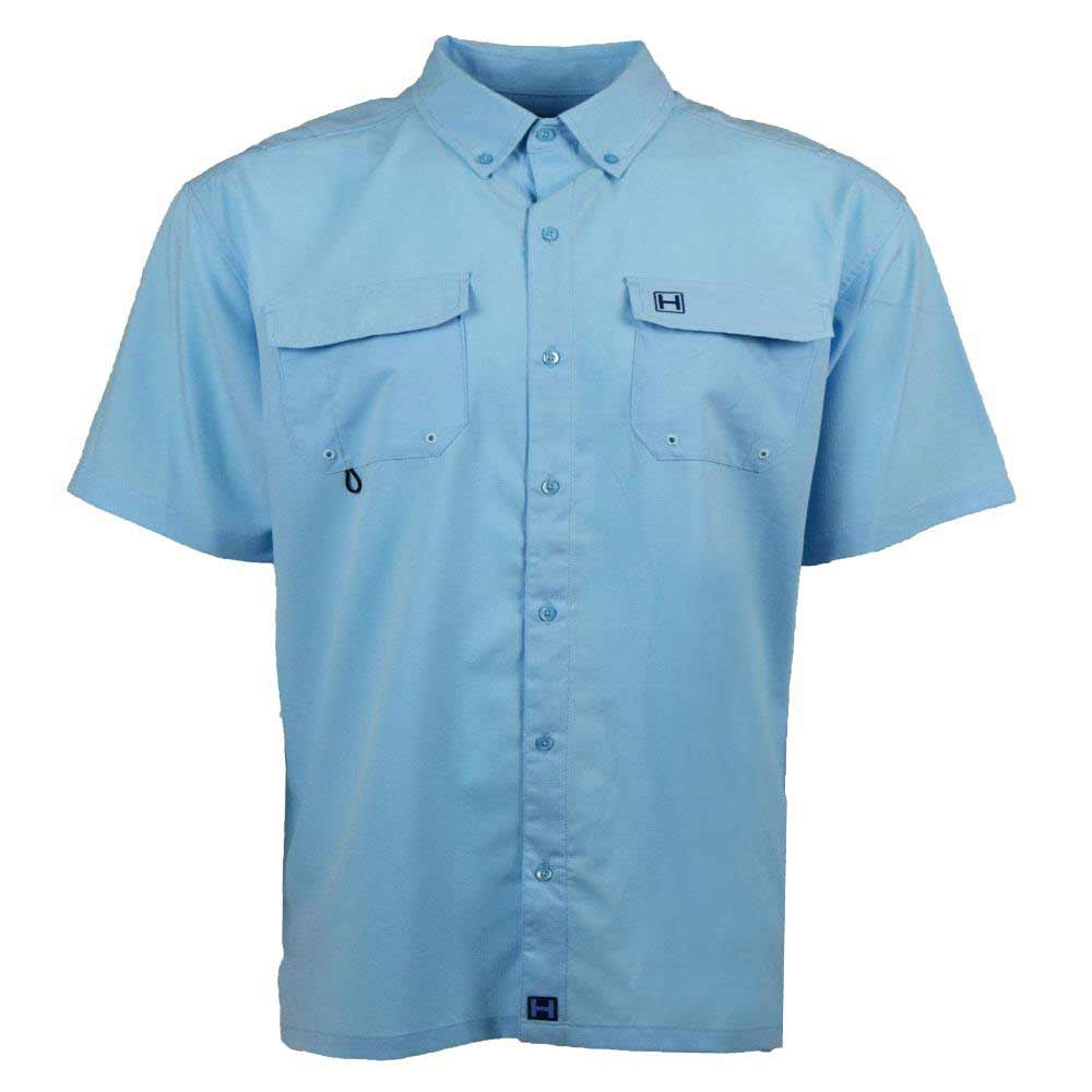 HEYBO The Boca Grande Short Sleeve, Azure Blue_1.jpg