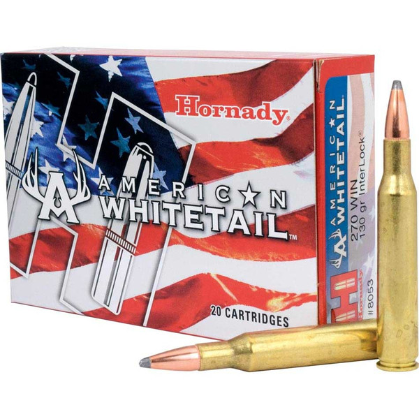 Hornday 270 Win 130 gr InterLock® SP American Whitetail®