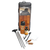 Hoppes Legend Gun Cleaning Kit for .22 Caliber and Larger Rifles
