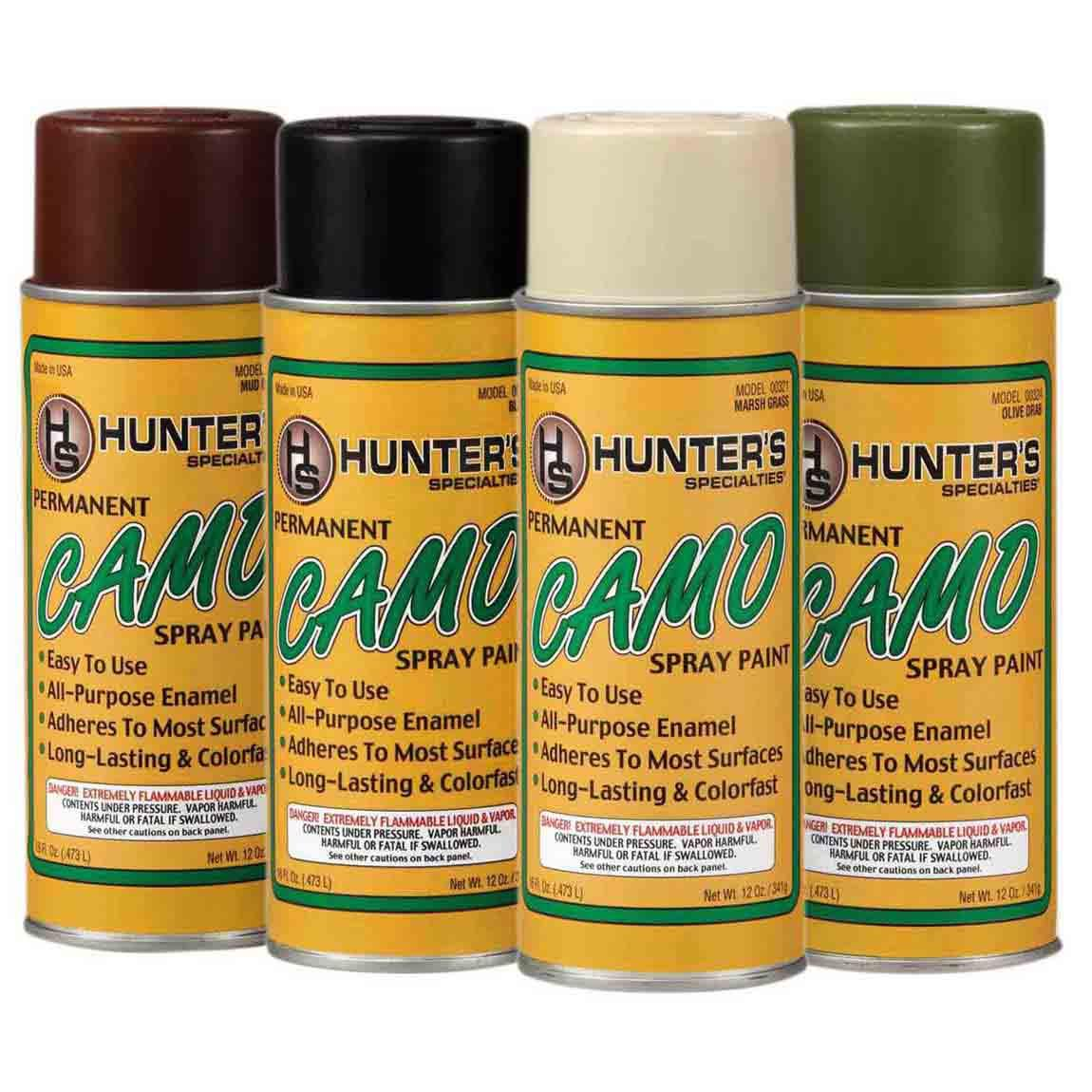 Hunter Specialties Permanent Camo Spray Paint