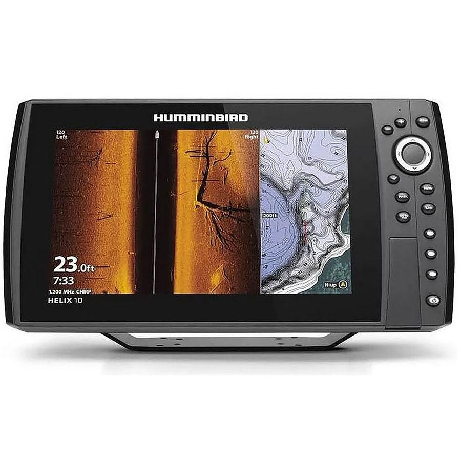 Humminbird HELIX 10 CHIRP MEGA SI+ GPS G3N Fishfinder with Bluetooth & Ethernet