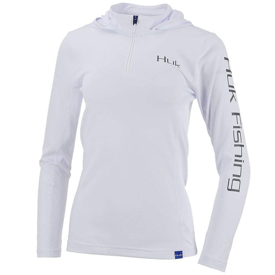 Huk Ladies Icon X Hoodie - White_1.jpg