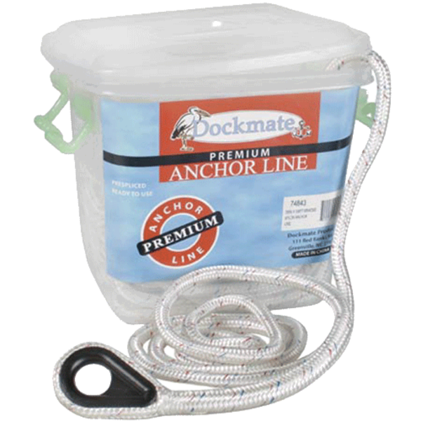 Dockmate Anchor Line - 1/2 inch x 200 Feet