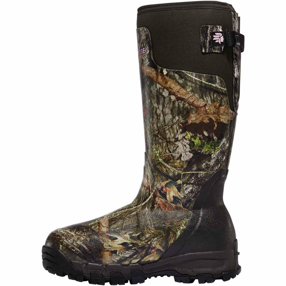 "LaCrosse Womens Alphaburly Pro 15"" Hunting Boots, Mossy Oak Break-Up Country"