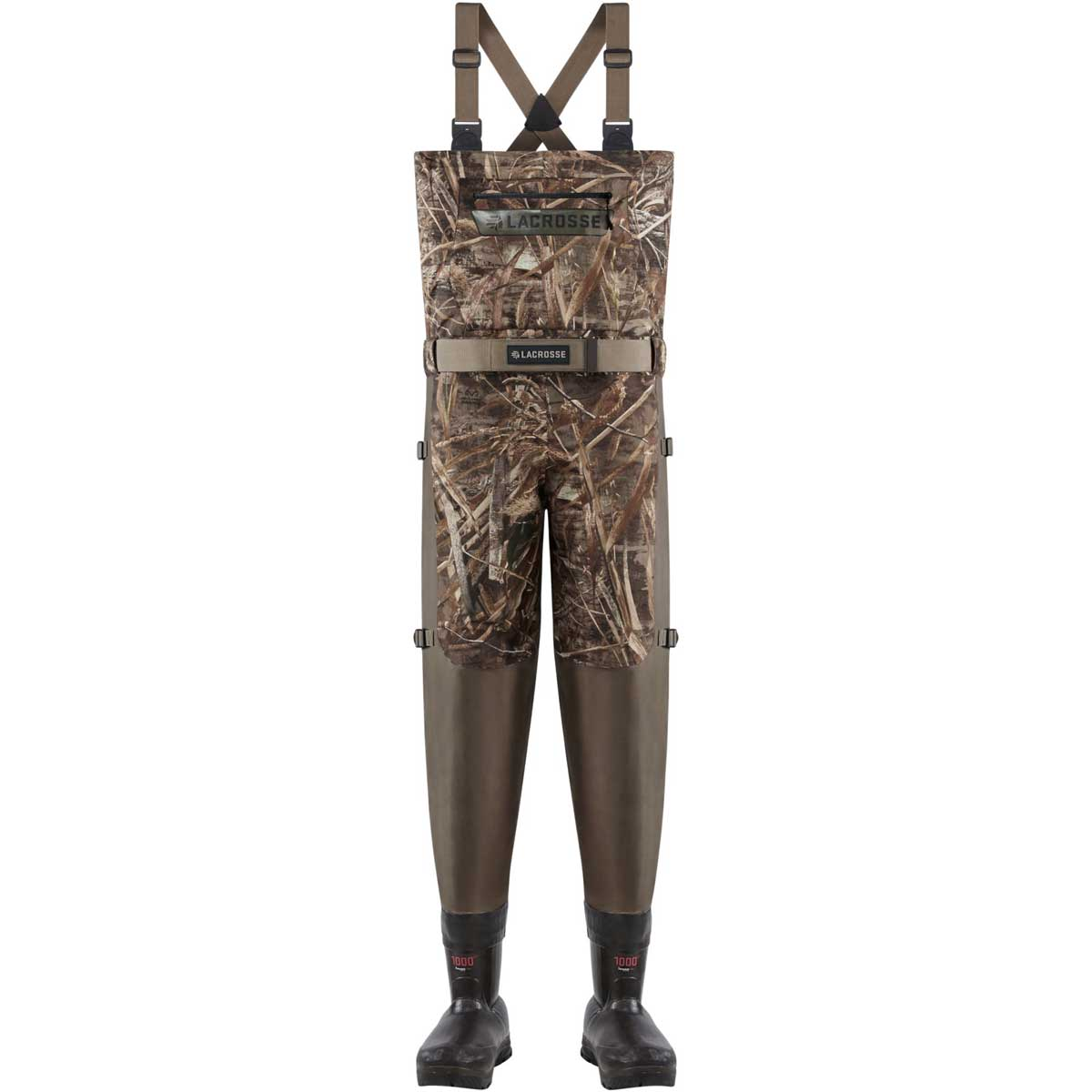 Lacrosse Insulated Alpha Swampfox Breathable Waders, 1000G Realtree Max 5_1.jpg