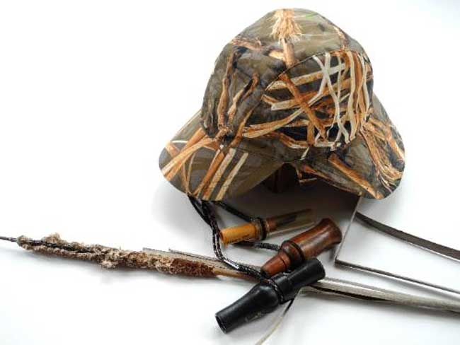 Muddy Water Camo The Cover Up - Dual Function Hat