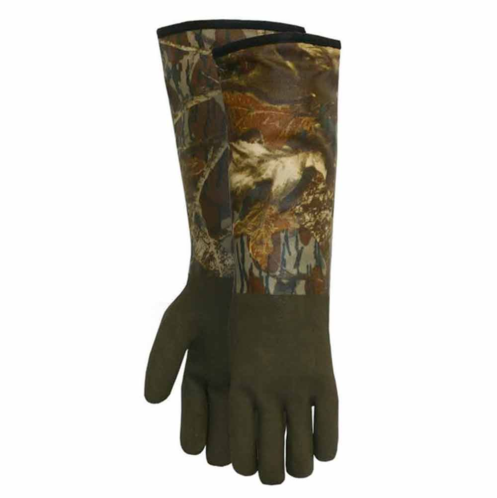 Midwest Gloves & Gear Decoy Glove, Thinsulate Lined PVC Coated in Mossy Oak Camo