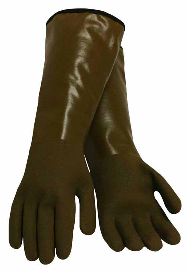 Midwest Gloves & Gear Decoy Glove, Thinsulate Lined PVC Coated