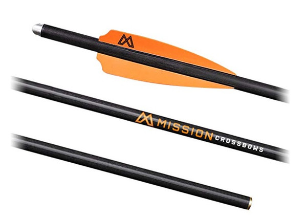 """Mission Archery 22"""" Crossbow Bolts, 3 Pack"""