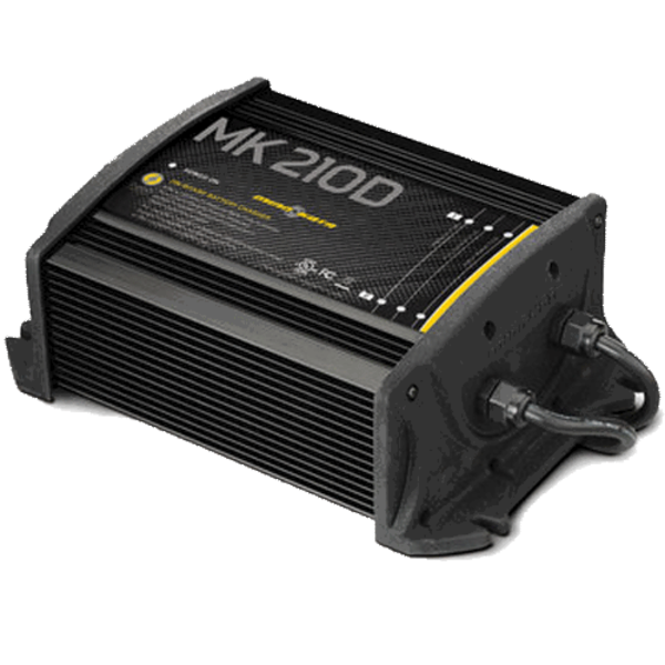 On-Board Marine Battery Charger - MK 210D, 2 Banks x 5 Amps