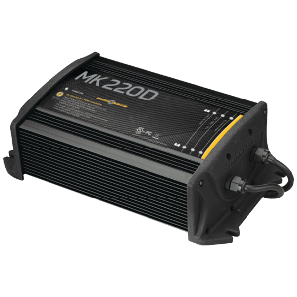 MinnKota MK 220D On-Board Battery Charger, 2 Banks 10 Amps