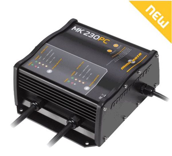 MK 230PC Precision Battery Charger, 2 Banks x 15 Amps