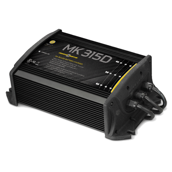 MinnKota MK 315D On-Board Battery Charger, 3 Banks 5 Amps