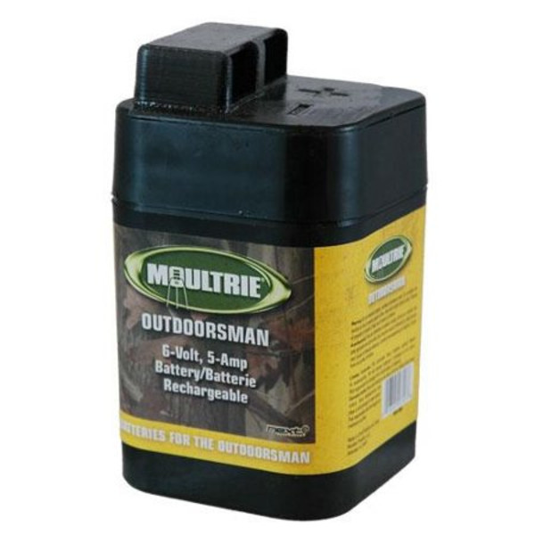Moultrie 6 Volt Rechargeable Battery w/ Safety Top