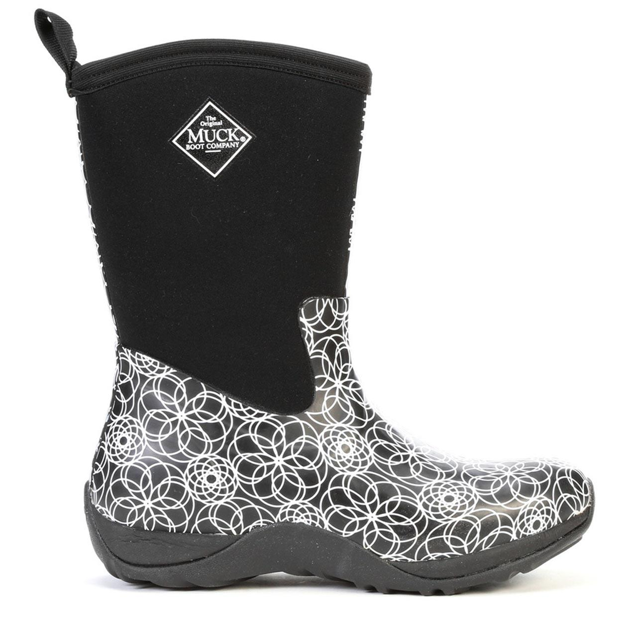 fa0f8afd1b1 Muck Boots Women's Arctic Weekend Prints All Purpose Winter Boot, Swirl
