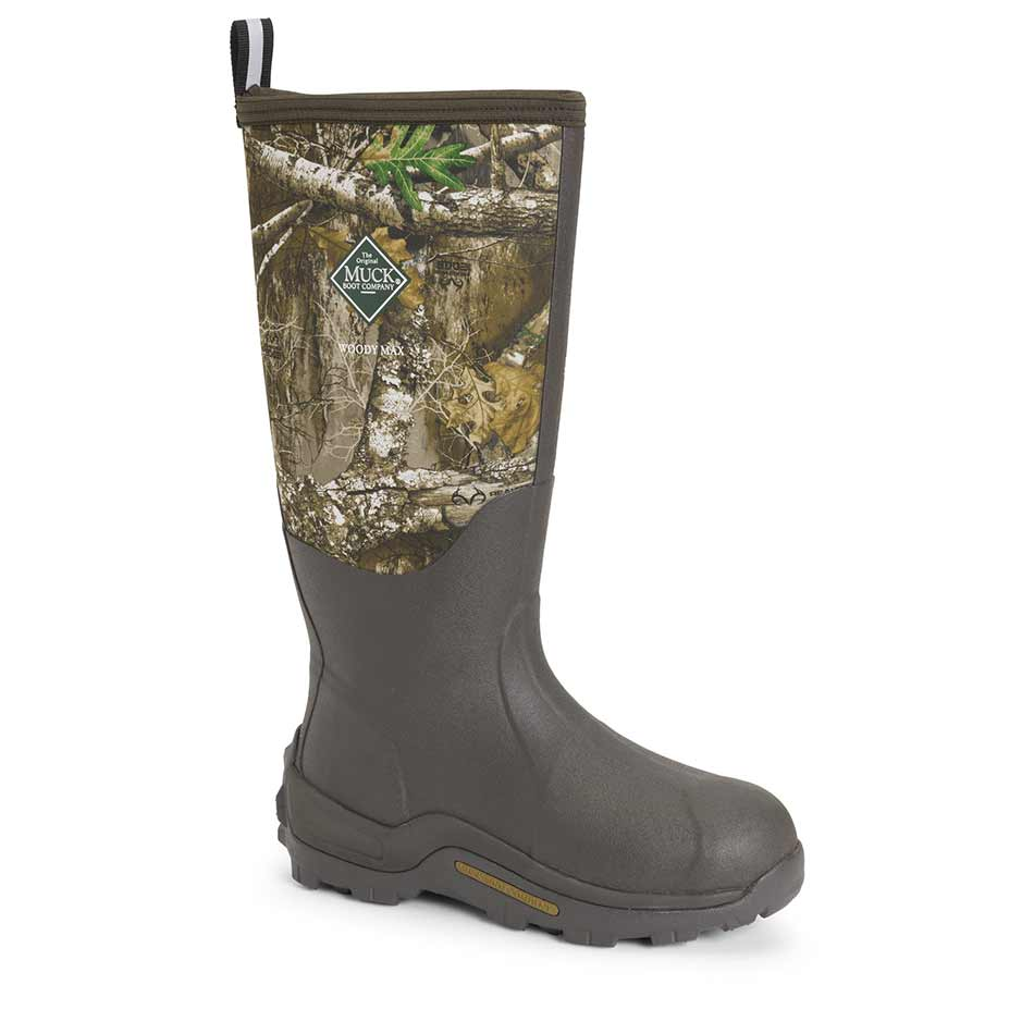 Muck Woody Max Realtree Edge - Brown/Realtree Edge