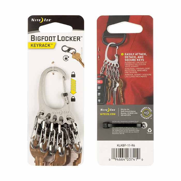 Nite Ize BigFoot Locker™ KeyRack™ - Stainless_1.jpg