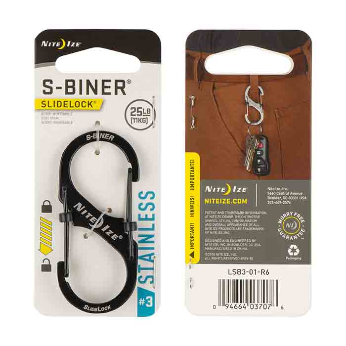 Nite Ize Slidelock Steel S-Biner #4 - Black_1.jpg