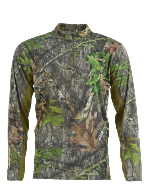 Nomad NWTF 1/4 Zip - Mossy Oak Obsession
