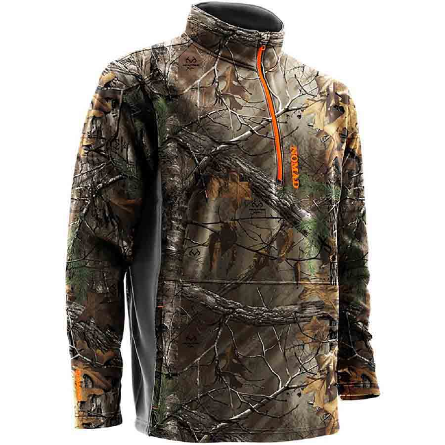 c3bbe8678d2bf Nomad Southbounder Camo 1/4 Zip Fleece, Realtree Xtra