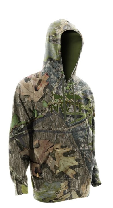 Nomad NWTF Applique Hoodie - Mossy Oak Obsession