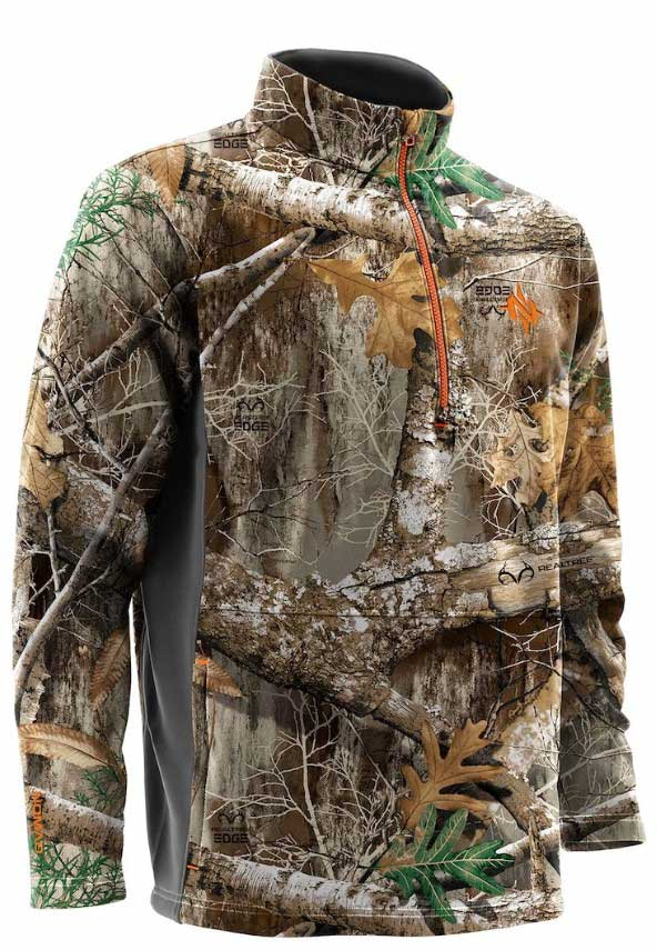 Nomad Southbounder 1/4 Zip Realtree Edge