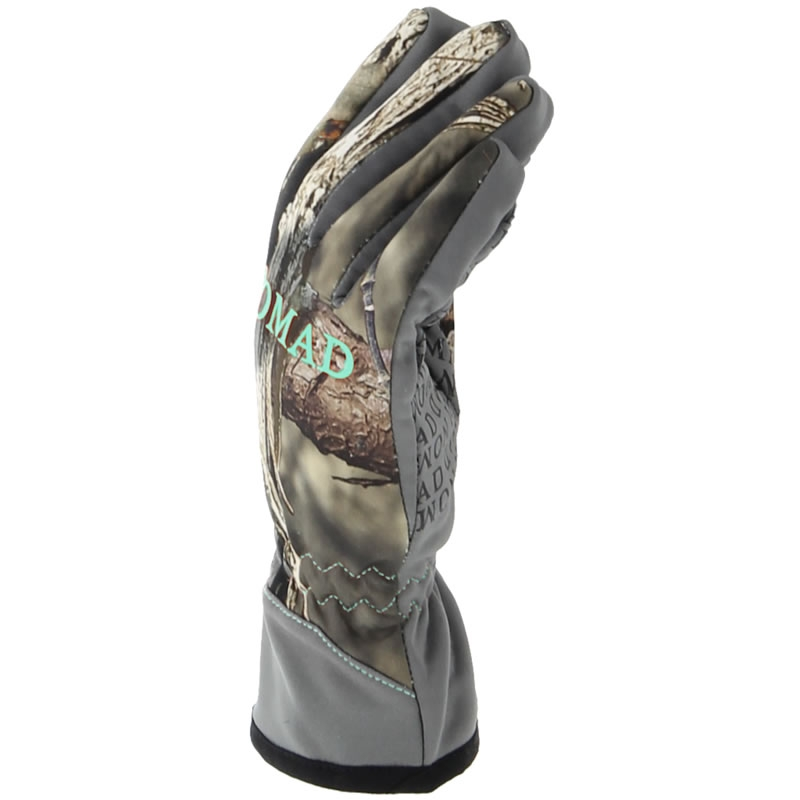 Nomad Womens Harvester Glove, Mossy Oak Break Up Country
