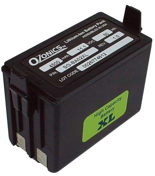 Ozonics Replacement Rechargeable XL Battery