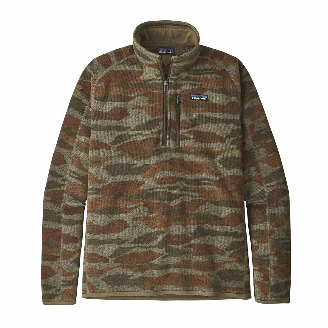 Patagonia Better Sweater 1/4 Zip - Bear Witness Camo