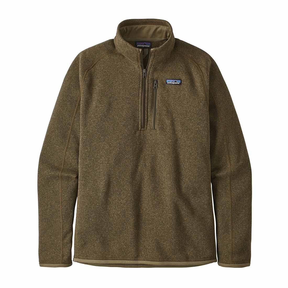 Patagonia Better Sweater 1/4 Zip - Sage Khaki