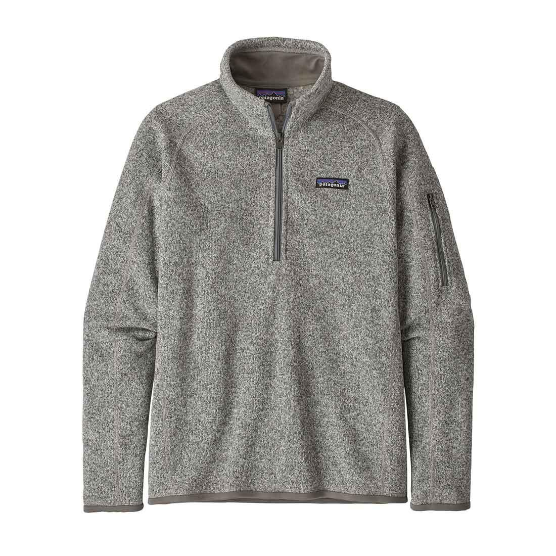 Patagonia Women's Better Sweater 1/4 Zip - Birch White