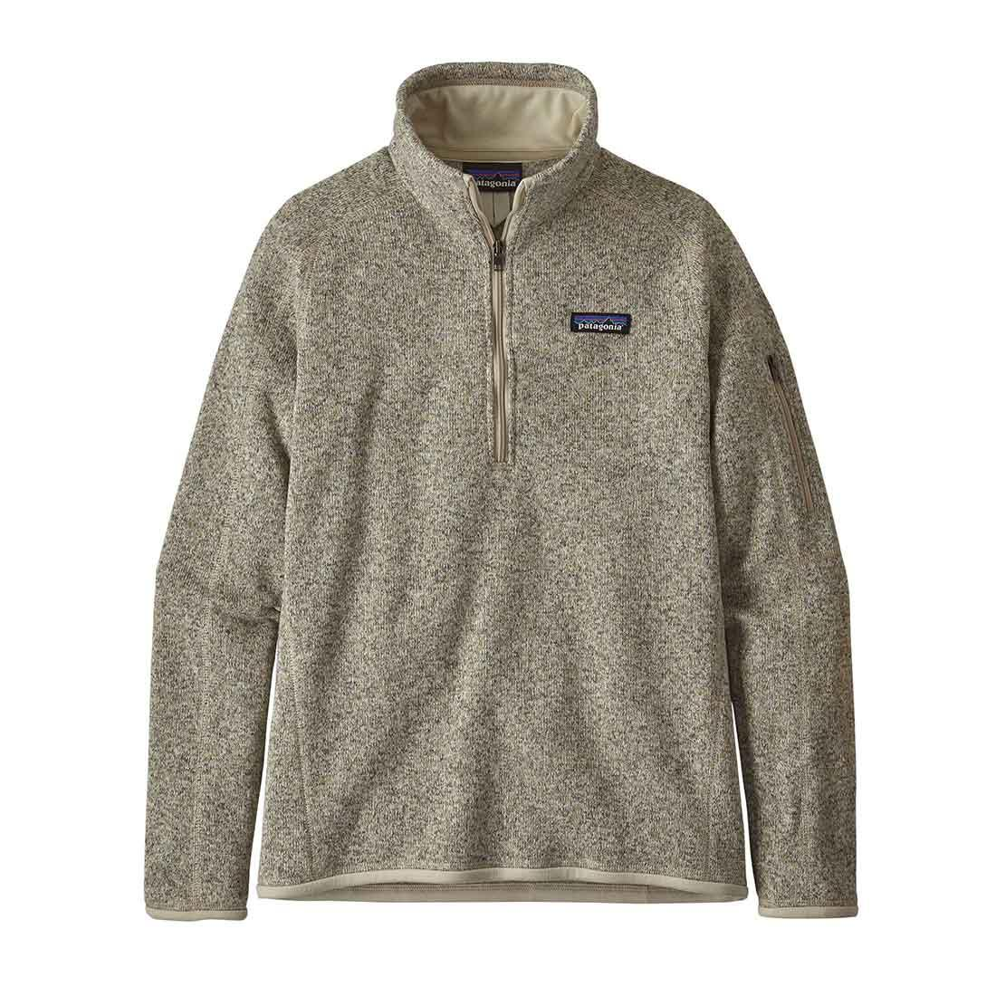 Patagonia Women's Better Sweater 1/4 Zip - Pelican