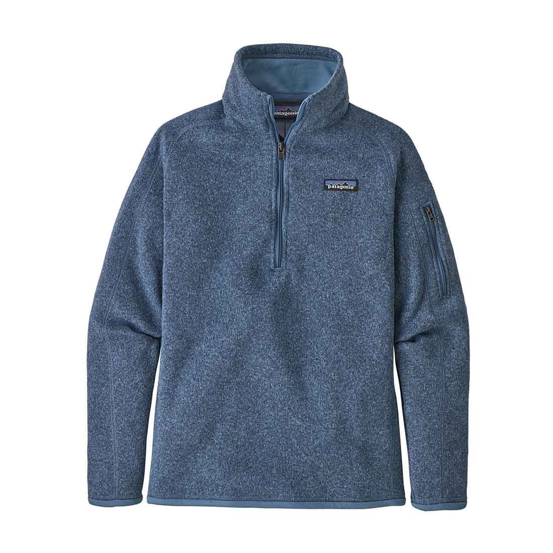 Patagonia Women's Better Sweater 1/4 Zip - Woolly Blue