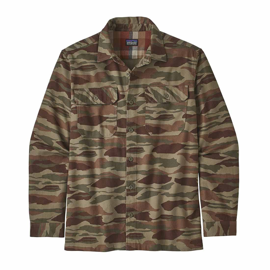 Patagonia Fjord Flannel Shirt - Bear Witness Camo