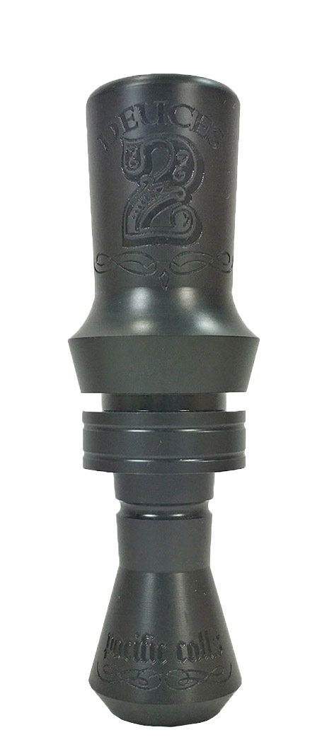 Pacific Calls Delrin Deuces Duck Call - Double Reed_1.jpg