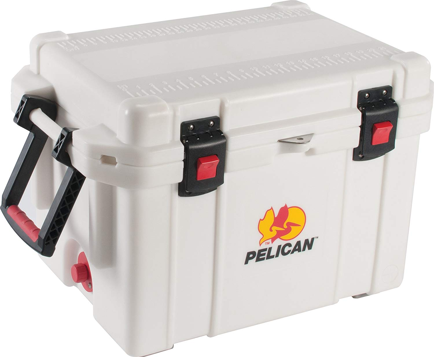 Pelican Elite Marine Cooler 35 Quart , White