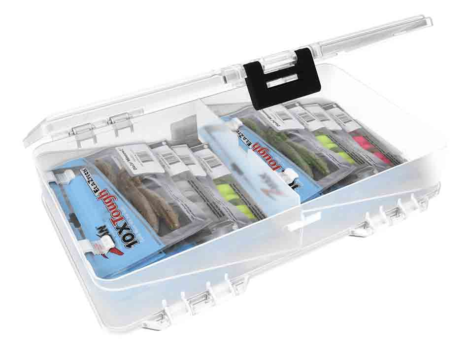Plano Plastic Worm Double Sided Stowaway Box