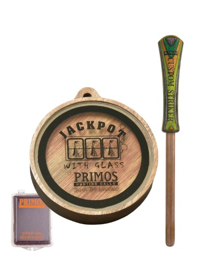 Primos JACKPOT with Glass Turkey Call