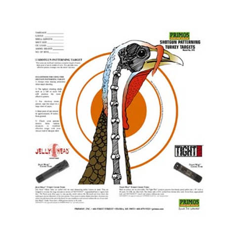 Primos Shotgun Patterning Turkey Target, 12 Pack_1.jpg