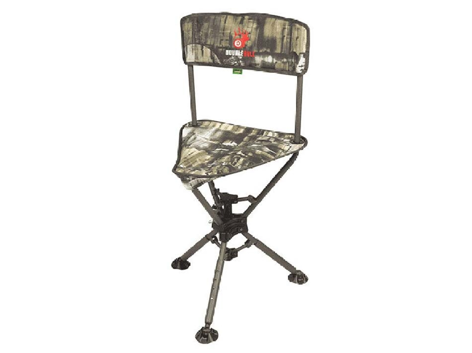 Primos Double Bull Swivel Tri Stool in Truth Camo