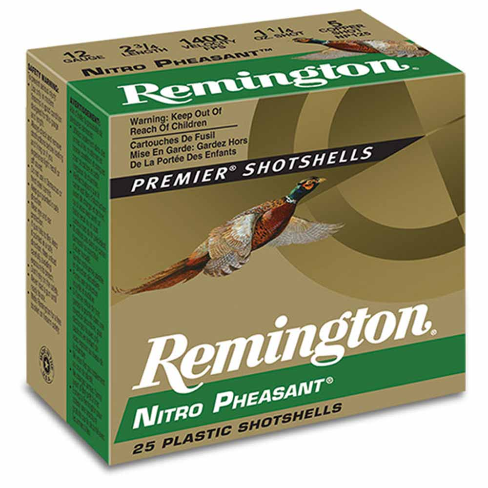 Remington Nitro Pheasant Load 12 Gauge 2-3/4in 1-3/8 oz 1300FPS_1.jpg