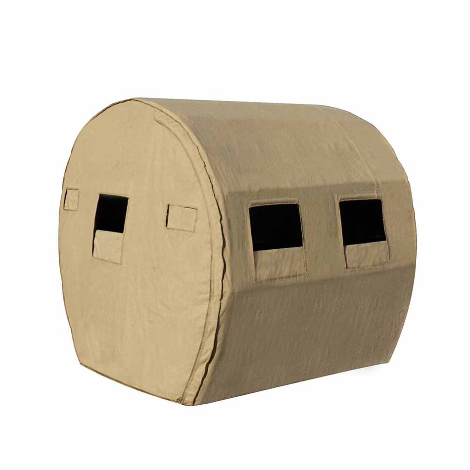 Redneck Blinds Sportsman HD Burlap Bale Blind