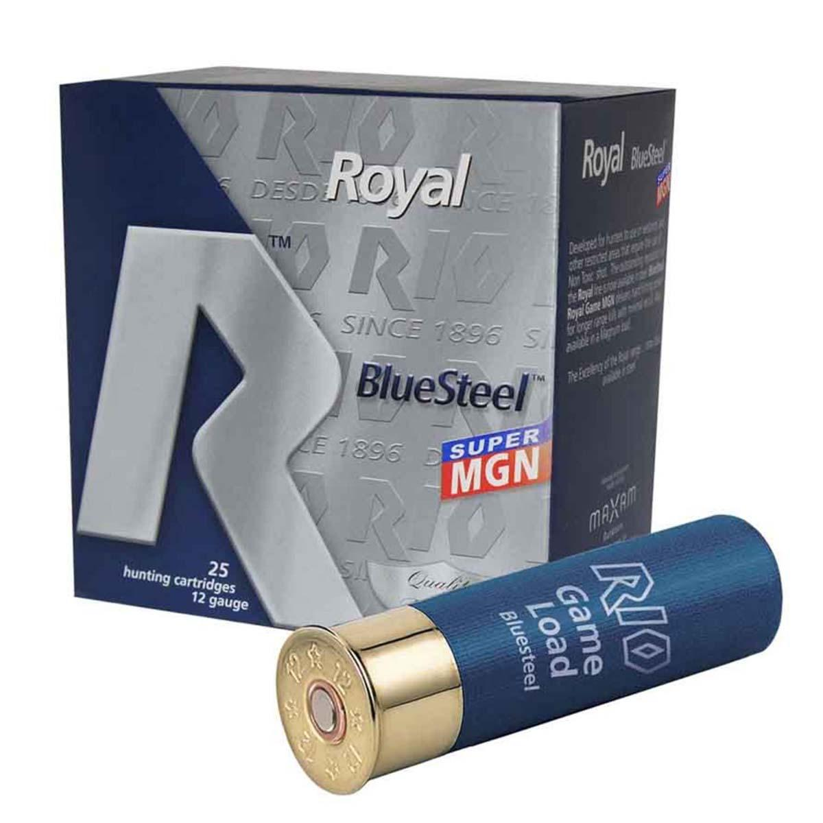 "Rio RBSSM40 Royal Blue Steel Super Magnum 40, 12 Gauge 3 1/2"" 1 3/8oz 1480FPS Max DRAM"