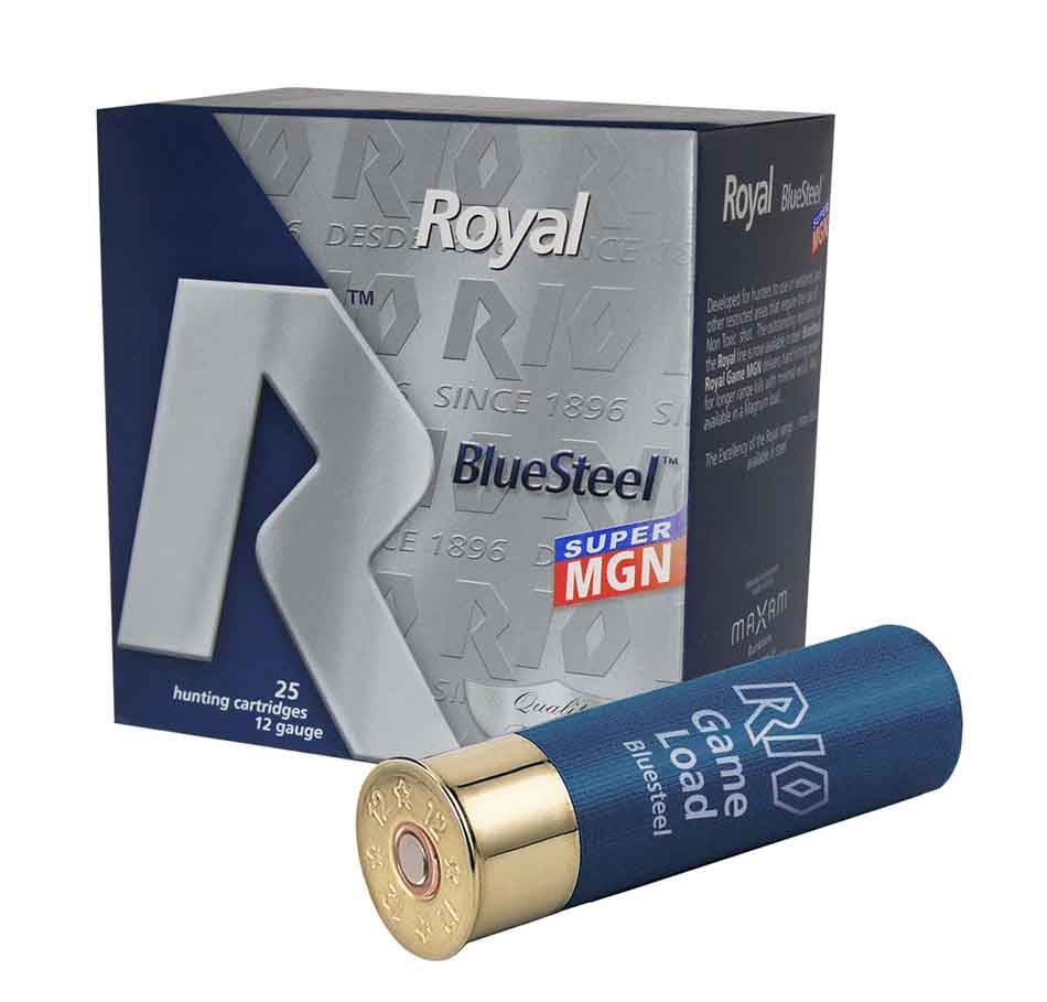"Rio RBSSM44 Royal Blue Steel Super Magnum 44, 12 Gauge 3 1/2"" 1 9/16oz 1300FPS Max DRAM"