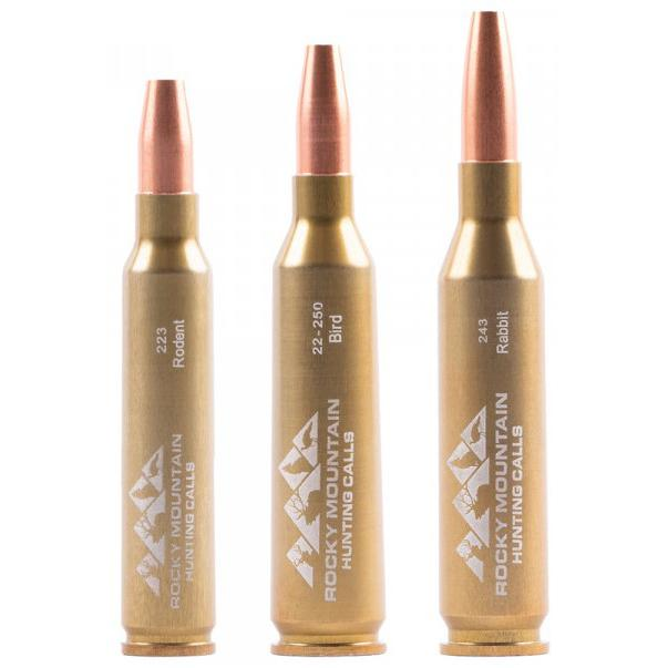 Rocky Mountain Hunting Calls Cartridge Predator Call Combo Pack of 3