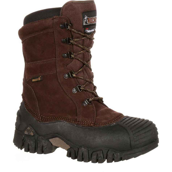 """Rocky 10"""" Jasper Trac Waterfproof 200G Insulated Outdoor Boots"""