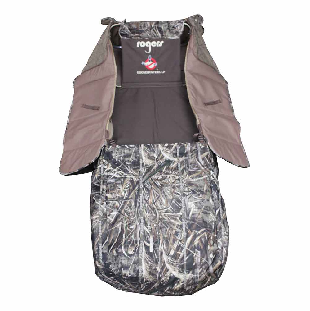 Rogers Goosebuster Low Profile Layout Blind - Realtree Max 5